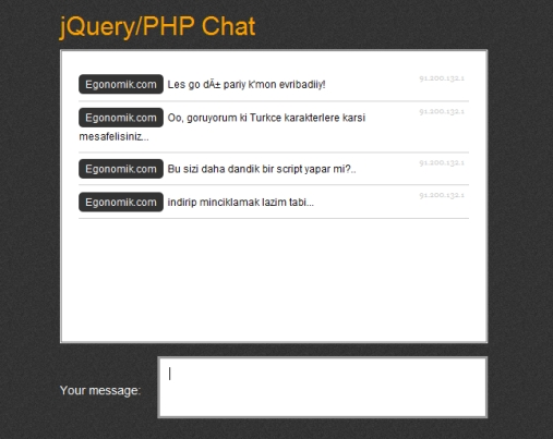 jquery-php-chat