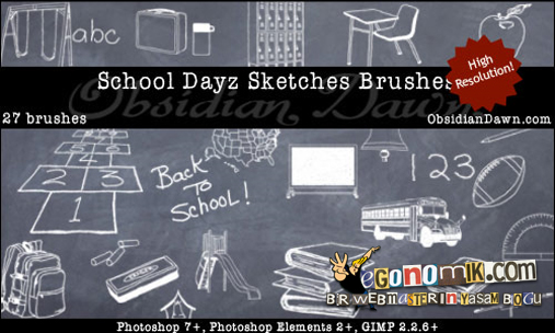 school-days-brushes