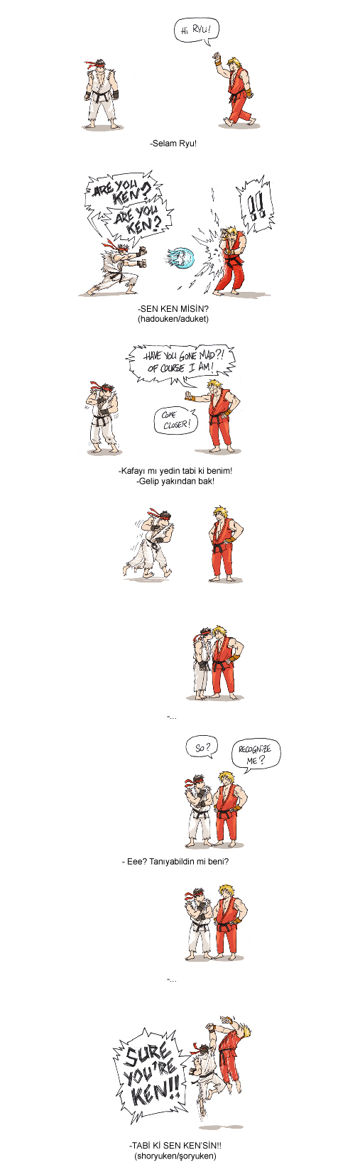 Street Fighter fun story