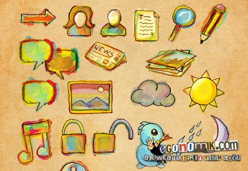 watercolor-png-icons