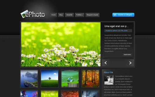 wordpress-ephoto-theme