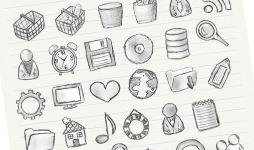 hand-drawing-icons