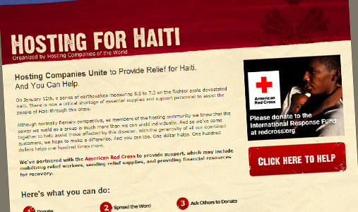 hosting-for-haiti