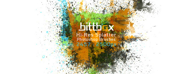 splatter-brush-set