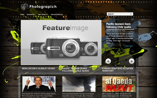 wordpress-splash-theme