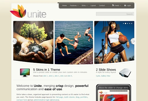 wordpress-unite-theme