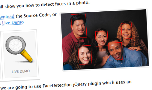 jquery-facebook-face-detection