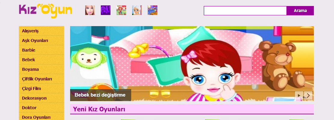 Kiz oyun net screenshot