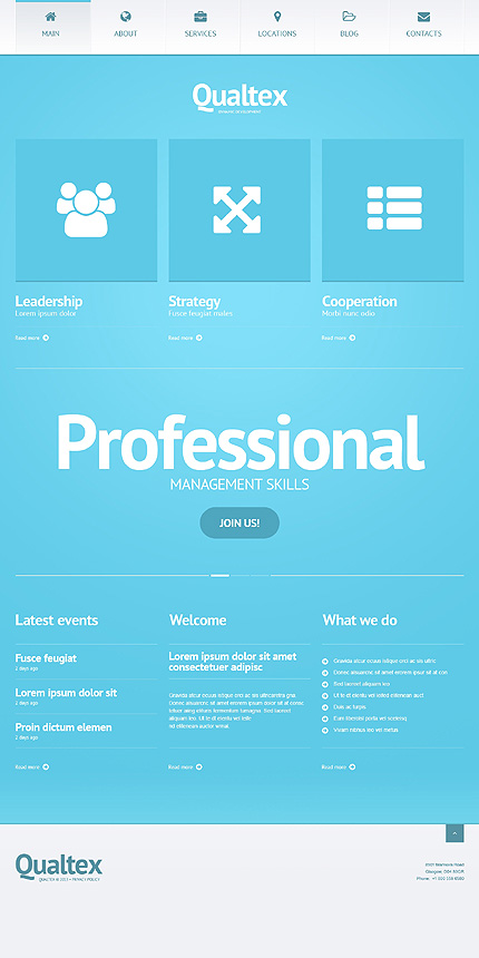 Responsive WordPress Tema