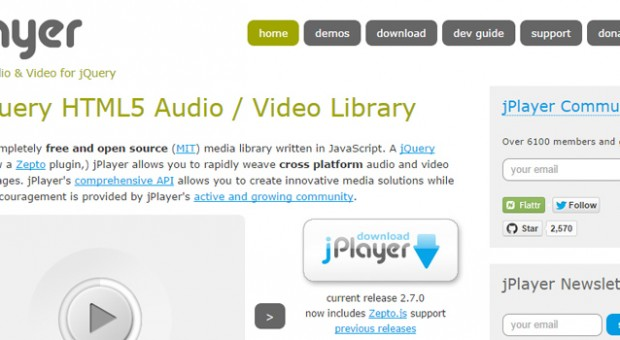 jplayer-jquery-video-audio-player