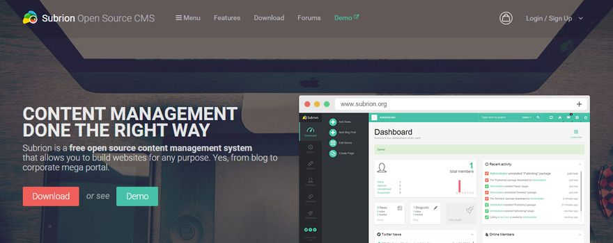 subrion-open-source-cms